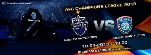 Buriram United & Jiangsu Sainty